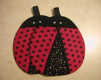 Ladybugs, Pot Grabbers (2) Handmade By Me... So Cute.
