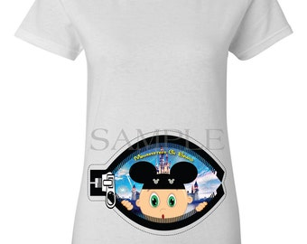 MOUSEKETEER / MICKEY MOUSE Maternity Shirt