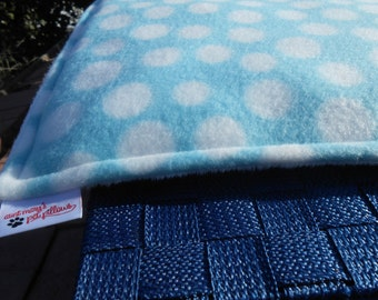 Minky and Fleece Pet Pad for Dogs and Cats