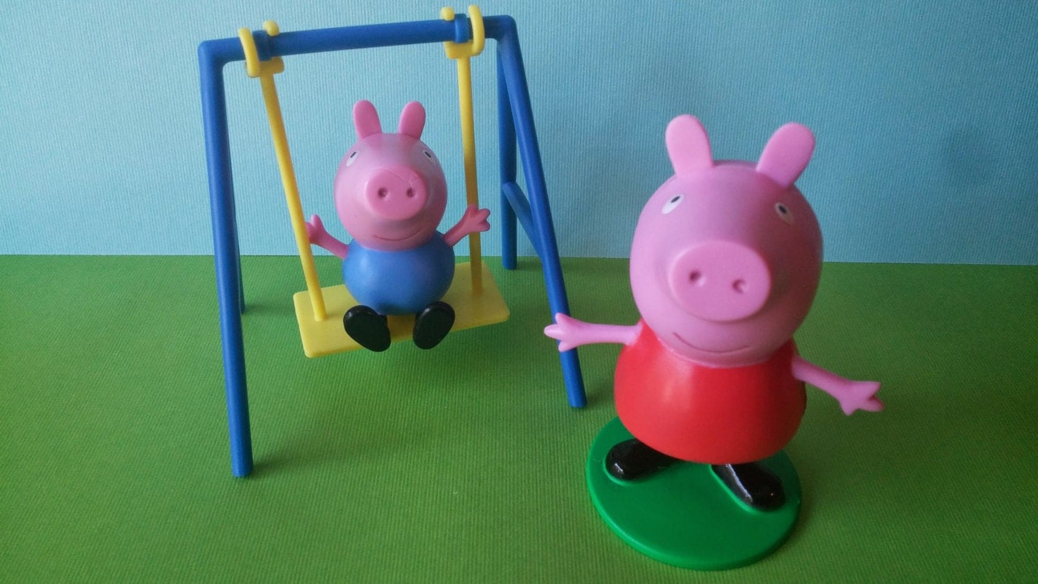 peppa pig cake decorating topper for birthday