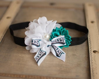 Philadelphia Eagles Headband, Eagles Baby Headband, Great Photo Prop