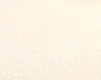 Cream Felt Sheets - 6 pcs - Rainbow Classic Eco Fi Craft Felt Supplies