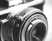 Kodak 35 - Original Fine Art Photograph (home decor, vintage, camera, black and white, photographer)