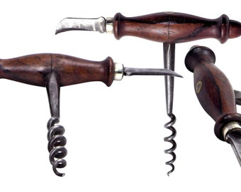 Antique American Corkscrew w/ Foil Cutter.