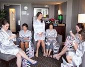Embroidered Bridesmaid Gift, Bridesmaid Robe, Bride Robe, Bridal Party Gift,