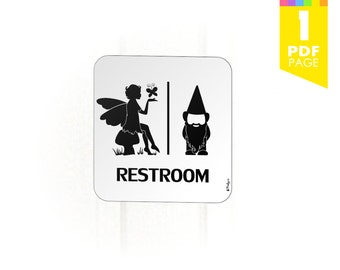 Doctor Who Restroom Sign High Quality Printable Pdf By