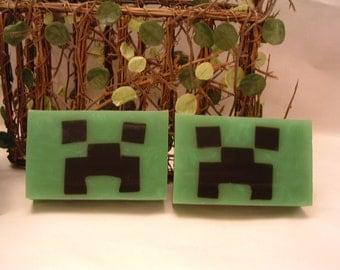 Minecraft Creeper Gamer soap