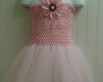 Light Pink tutu dress/basic