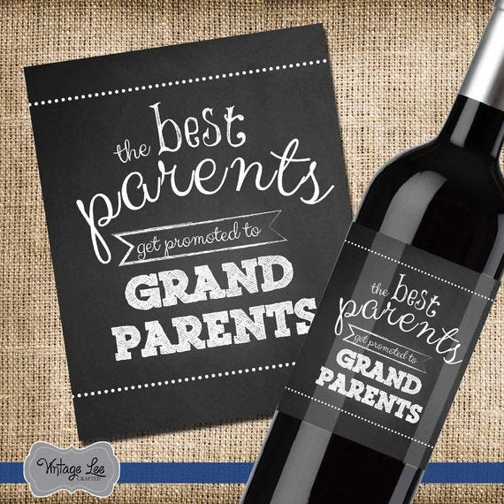 Très Les meilleurs Parents obtenir une promotion aux grands-parents UL52