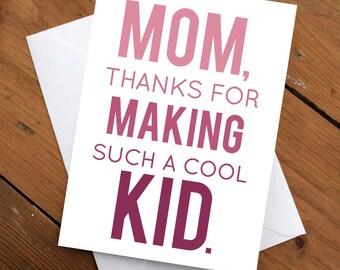 day card mom birthday card mom card greeting card