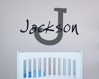 Name Decals for Walls - Vinyl Name Decals for Walls - Name Decals for Wall 0031
