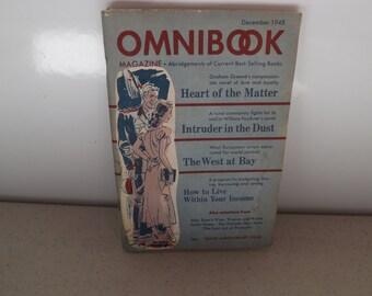 Omni Book Magazine December 1948