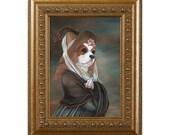 Dog Magnet, Olivia Royale, Cavalier King Charles Spaniel, Refrigerator Magnet