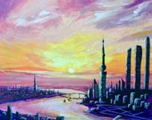 Evening City by Veron Ramsawak
