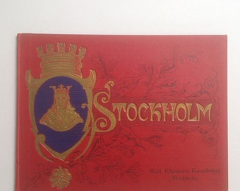 Stockholm: 1899 Book, Stunning Cover