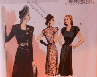 Butterick 5281, Vintage re-issue pattern Size E5 (14 to 22)