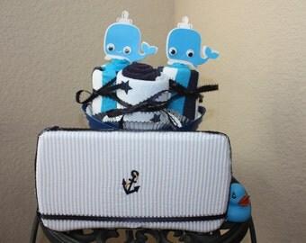 wipe case ocean baby boy wash cloth cupcakes sets