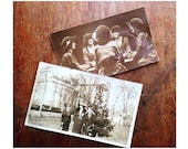 Antique Photographs Vintage Photos -Set of Two- Free Domestic Shipping