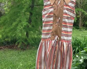 Girls Vintage Western Cinderella Dress Girls 7