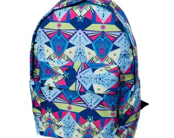 ON SALE Backpack kika Mandala Expression Backpack,Waterproof,Durable,Laptop Backpack. Free Shipping US