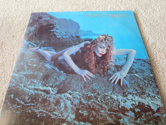 David Jones Personal Collection Record Album - Roxy Music - Siren