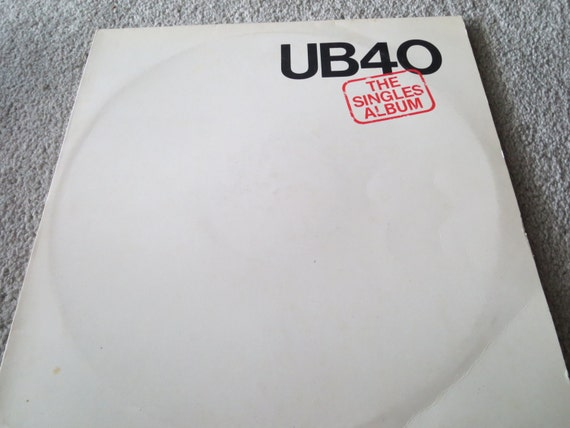 David Jones Personal Collection Record Album - UB40 - The Singles Album