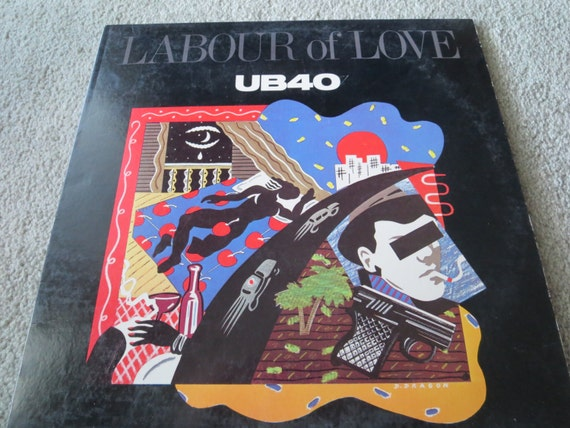 David Jones Personal Collection Record Album - UB40 - Labour Of Love
