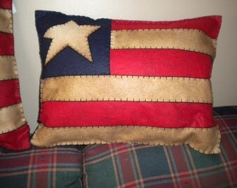 Rectangular Americana pillow
