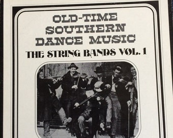 Old-time southern dance music vinyl