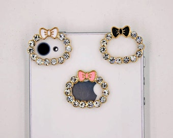1 piece Camera Decoden Bling Bling Decoden Piece for your craft projects ( Ramdon color )