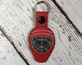 Hockey Goalie Keychain - Bag Tag