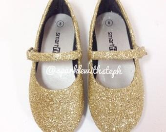 Glitter Shoes Ballet Flats- infant/Toddler/Youth