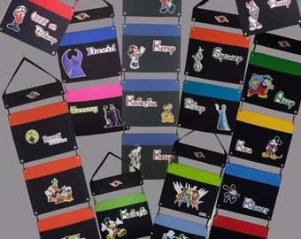 Disney Cruise Fish Extender - DCL - Custom made - 1 - 5 Separate Pockets - Flexible - Any characters - Pirate Mickey Princess etc!