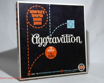 Aggravation Game from CO-5 1962 COMPLETE (read description)
