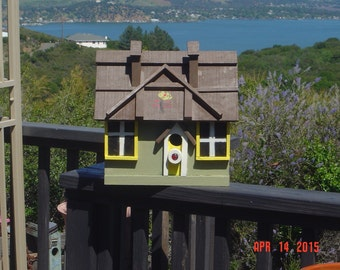 "Don""s Unique Bird Houses"
