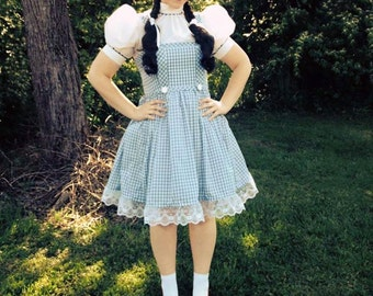 Wizard of Oz Dorothy Outfit For Women Size Small to Xlarge