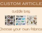 CUSTOM ARTICLE: cosy sleeping bag / cuddle sack for guinea pigs, hedgehogs or sugar gliders