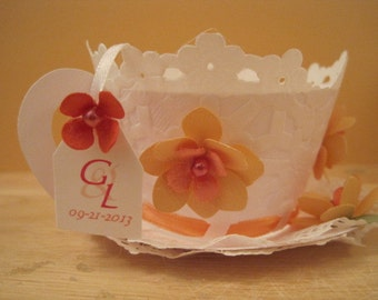 Peachy Peach Cupcake Wrappers