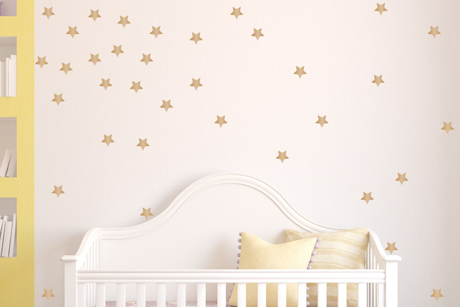 Star Decals Peel And Stick Removable Wallpaper Wall Decals