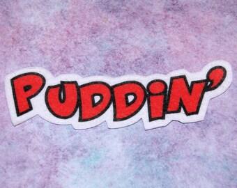 Puddin' Harley Quinn Iron On Patch MTCoffinz