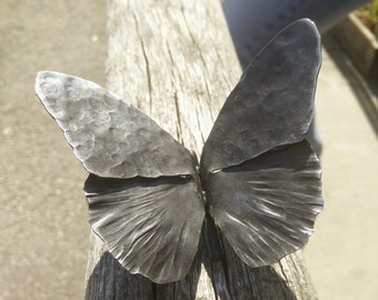 Hand forged Butterfly