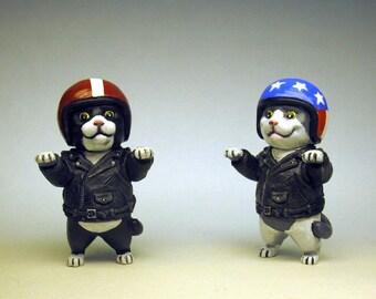 Vroom Vroom Biker Kitty