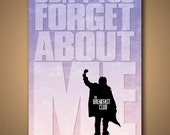 The BREAKFAST CLUB - Don't You Forget About Me LYRIC Poster