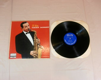 The Fabulous Jimmy Dorsey LP Music Record Vinyl Album -  F-1008