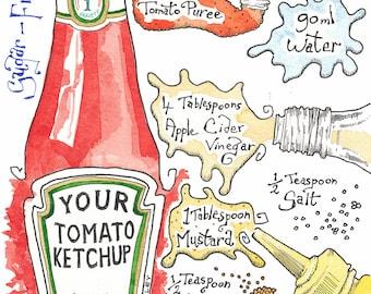 Original recipe illustration