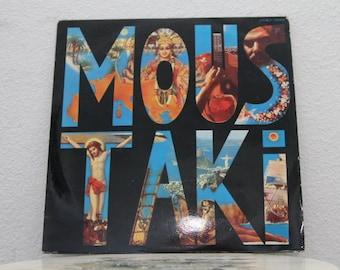 "Georges Moustaki - ""Moustaki"" vinyl record, Greece Import"