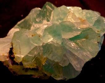 Rough Green Fluorite