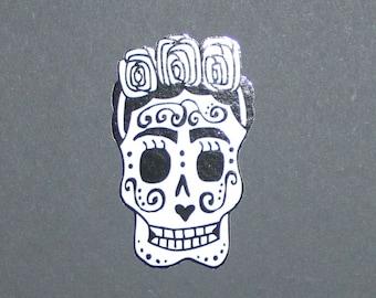 Frida Sugar Skull Car Sticker #100