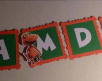 Dinosaur Train Name Banner