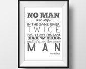 Man Quote - Illustration- Ink- Drawing - Art